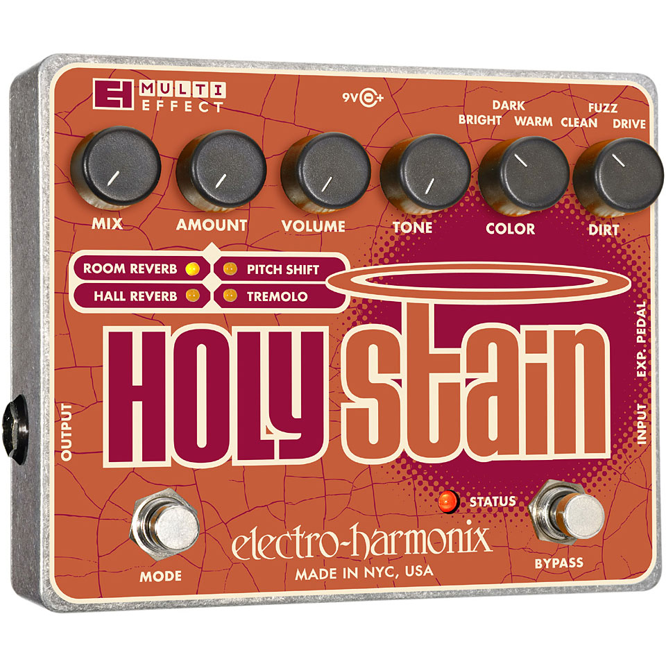 Electro-Harmonix Holy Stain Tremolo Reverb Pitch Shifting Pedal