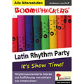 Lehrbuch Kohl Boomwhackers Latin Rhythm Party 1, Drums und Percussion