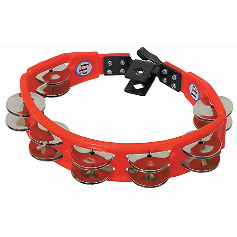Latin Percussion Cyclop LP161 Steel Jingles Mountable Tambourine