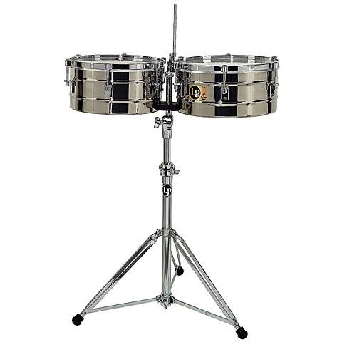Latin Percussion Tito Puente LP256 S Stainless Steel Percussion