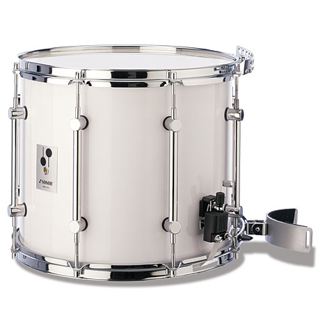 Sonor B Line Series 14 x 12 Parade Snare Drum White Marching