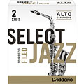 D'Addario Select Jazz Filed Alto Sax 2S « Blätter