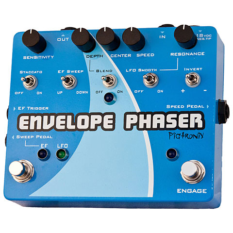 Pigtronix Envelope Phaser Effekte