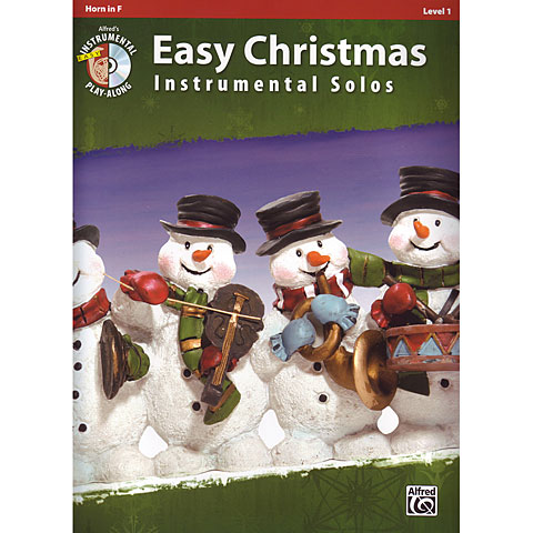 Alfred KDM Easy Christmas Instrumental Solos