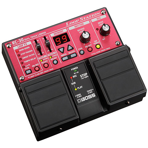 Boss RC 30 Loop Station Effekte