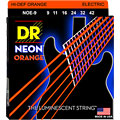 DR Neon Orange Lite « Струны для электрогитары