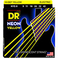 DR Neon Yellow Lite « Струны для электрогитары