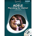 Music Sales Adele for clarinet « Play-Along
