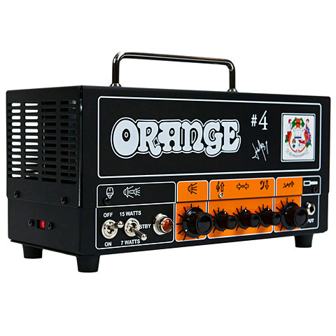Orange Signature #4 Jim Root Terror Head