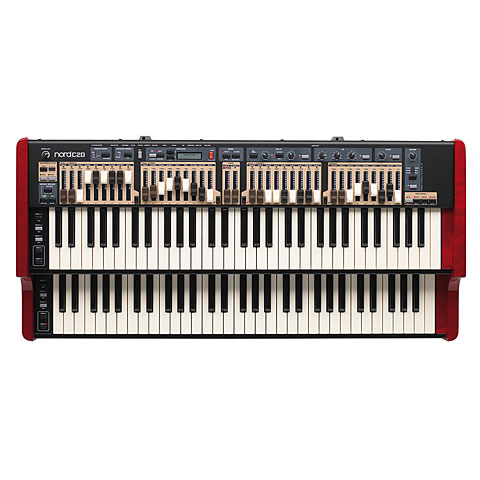 Clavia Nord C2D Keyboards, Orgeln