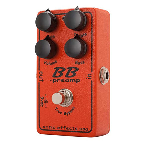 Xotic BB Preamp Effekte