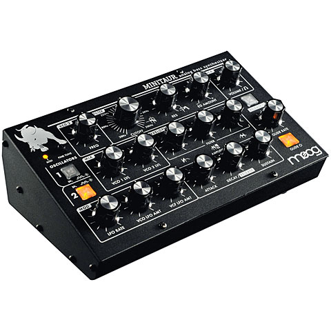 Moog Minitaur Synthesizer, Sampler