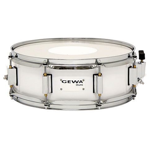 Gewa Marching Snare Drum 14 x 5 White Marching