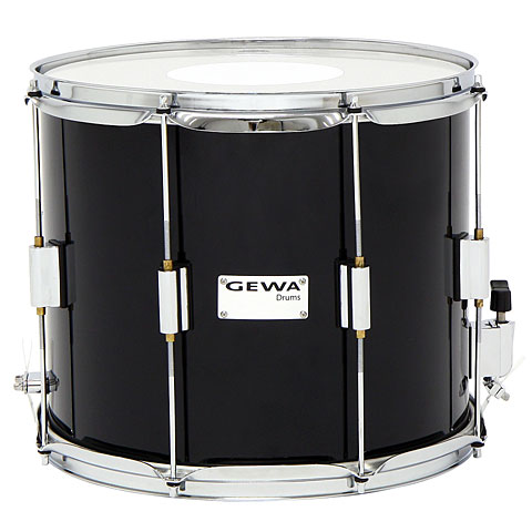 Gewa Parade Snare Drum 14'' x 12'' Black Marching