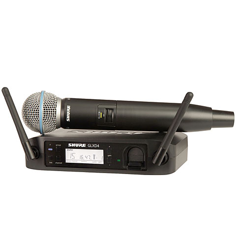 Shure GLXD24E, B58-Z2 Wireless-Mics, -Sets