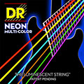 DR NEON Hi-Def MULTI-COLOR Medium « Струны для электрогитары