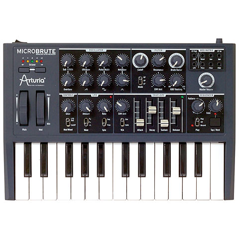 Arturia MicroBrute Synthesizer, Sampler