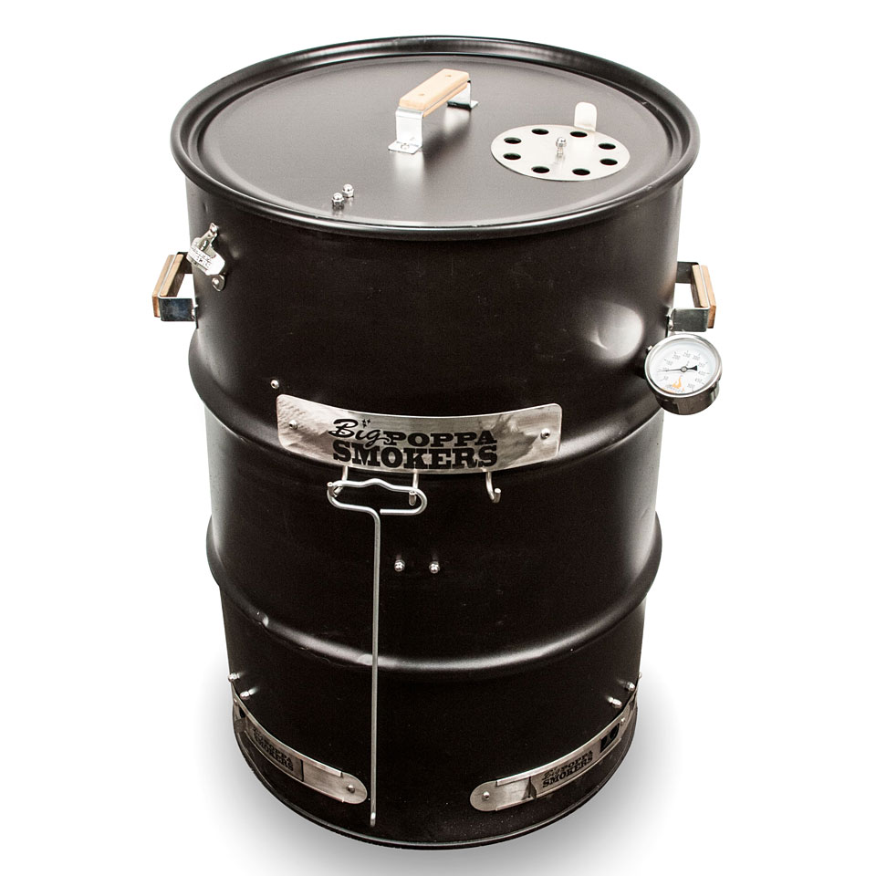 Big Poppa Smokers Bps Drum Smoker Kit 171 Geschenkartikel