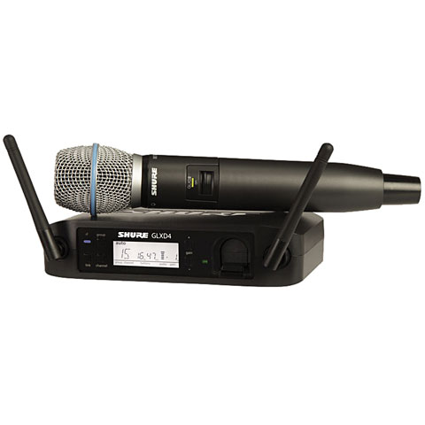 Shure GLXD24E, B87-Z2 Wireless-Mics, -Sets