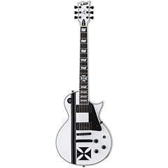 ESP LTD Iron Cross Snow White James Hetfield « E-Gitarre