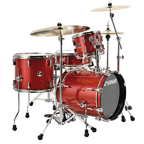 Sonor Special Edition Safari SSE 10 Red Galaxy Sparkle