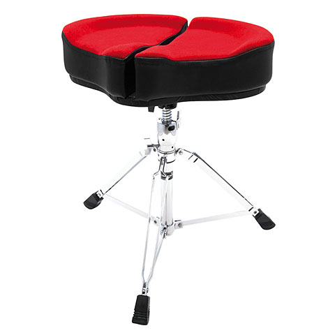 AHead Spinal Glide Red Saddel Drum Throne Drum-...
