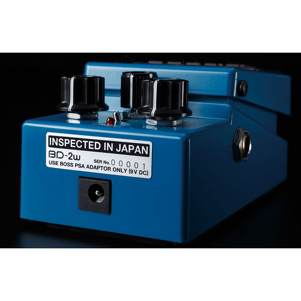Blues Driver Waza Craft Pedal