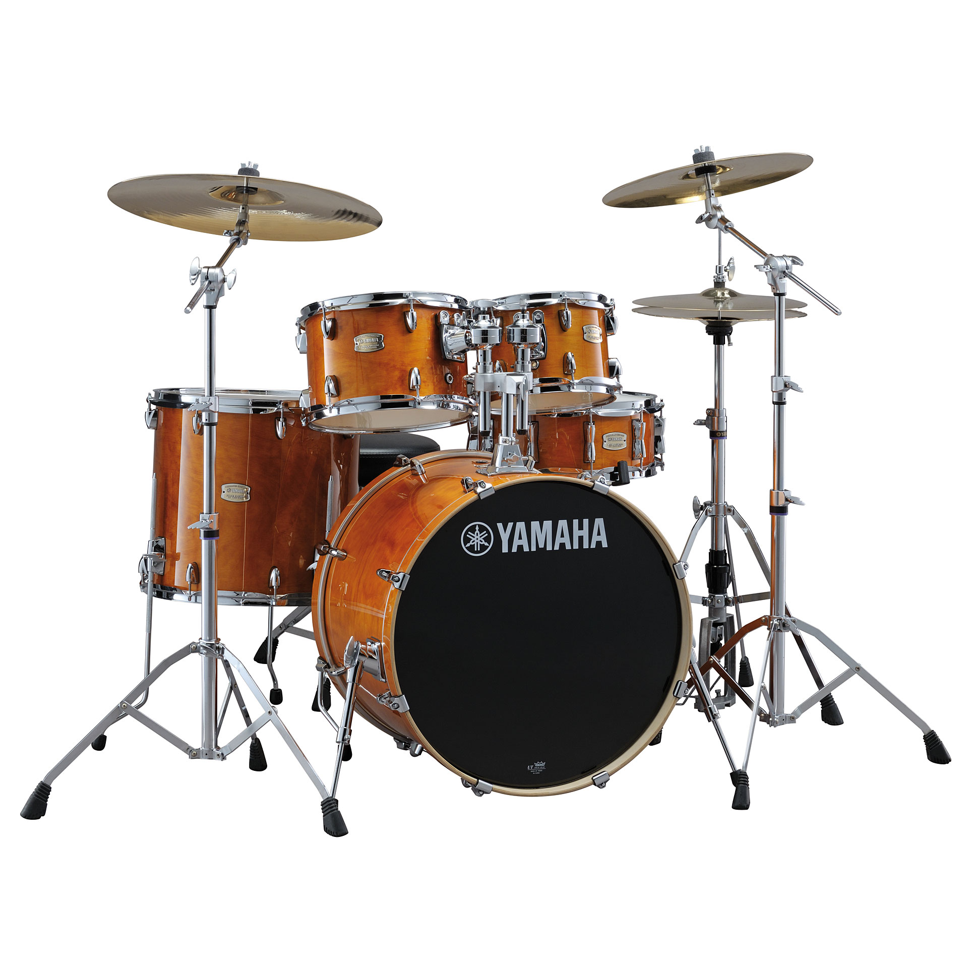 Yamaha Custom Birch Drum Set