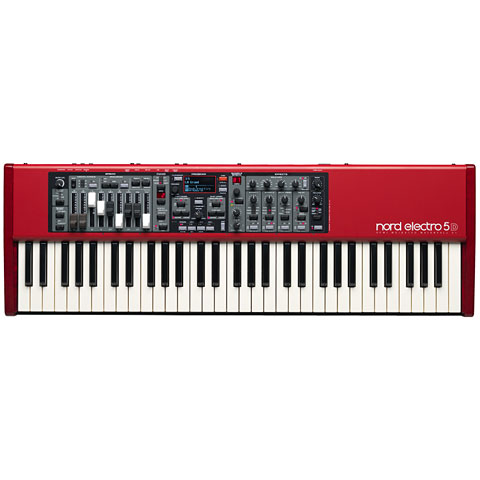 Clavia Nord Electro 5D 61 Synthesizer, Sampler