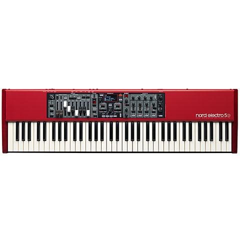 Clavia Nord Electro 5D 73 Synthesizer, Sampler