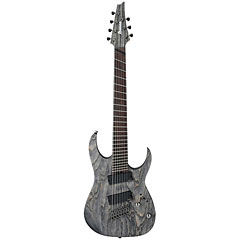 Ibanez RGIF7-BKS Fanned Fret Iron Label