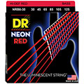DR Neon Red Medium 6 « Saiten E-Bass