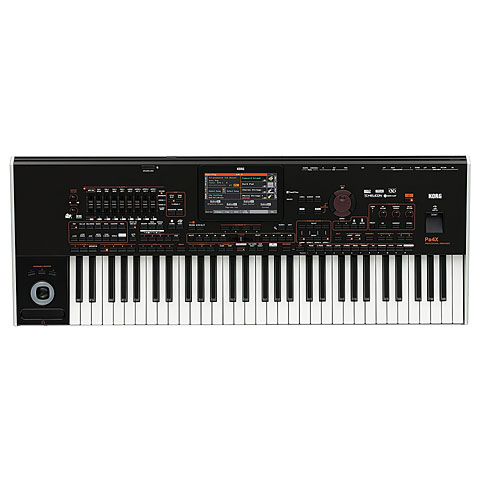 Korg Pa4X international 61 Keyboards, Orgeln
