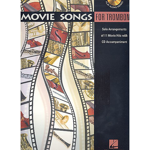 Hal Leonard Movie Songs for Trombone
