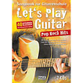 Notenbuch Hage Let's Play Guitar Pop Rock Hits