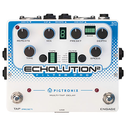 Pigtronix Echolution 2 Filter Pro Effekte