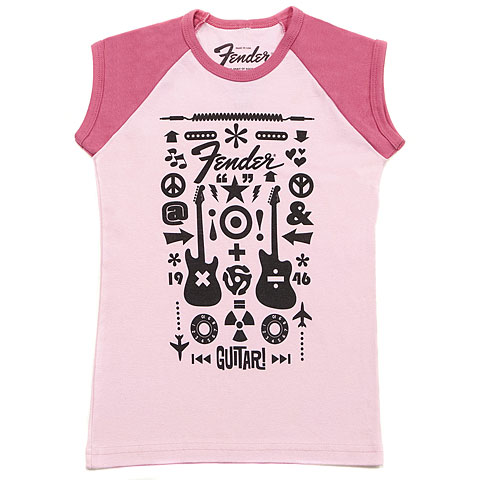 Fender Kids Guitar Formula Pink 10 YRS