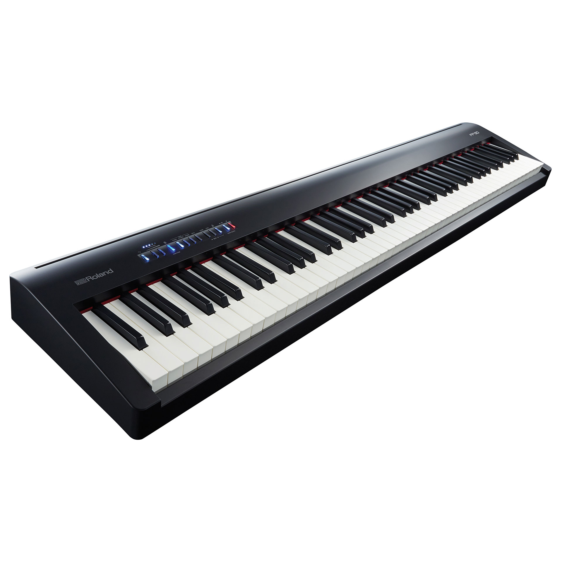 roland fp 30 bk digitalpiano stagepiano. Black Bedroom Furniture Sets. Home Design Ideas