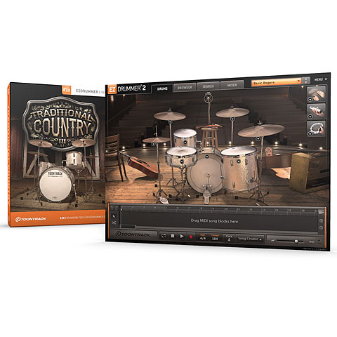 Toontrack Traditional Country EZX