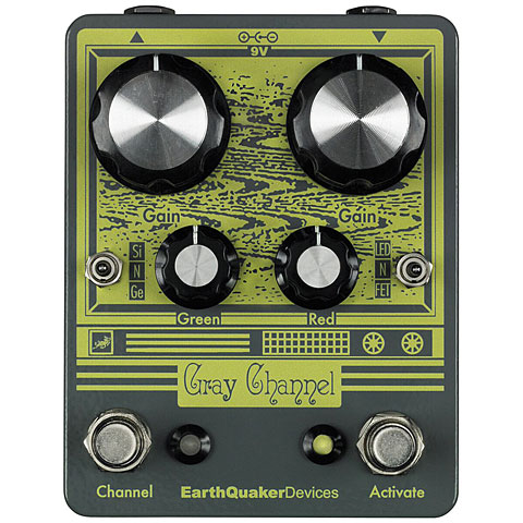 EarthQuaker Devices Gray Channel Effekte