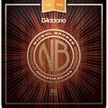 Saiten Westerngitarre D'Addario NB1256 Nickel Bronze Set