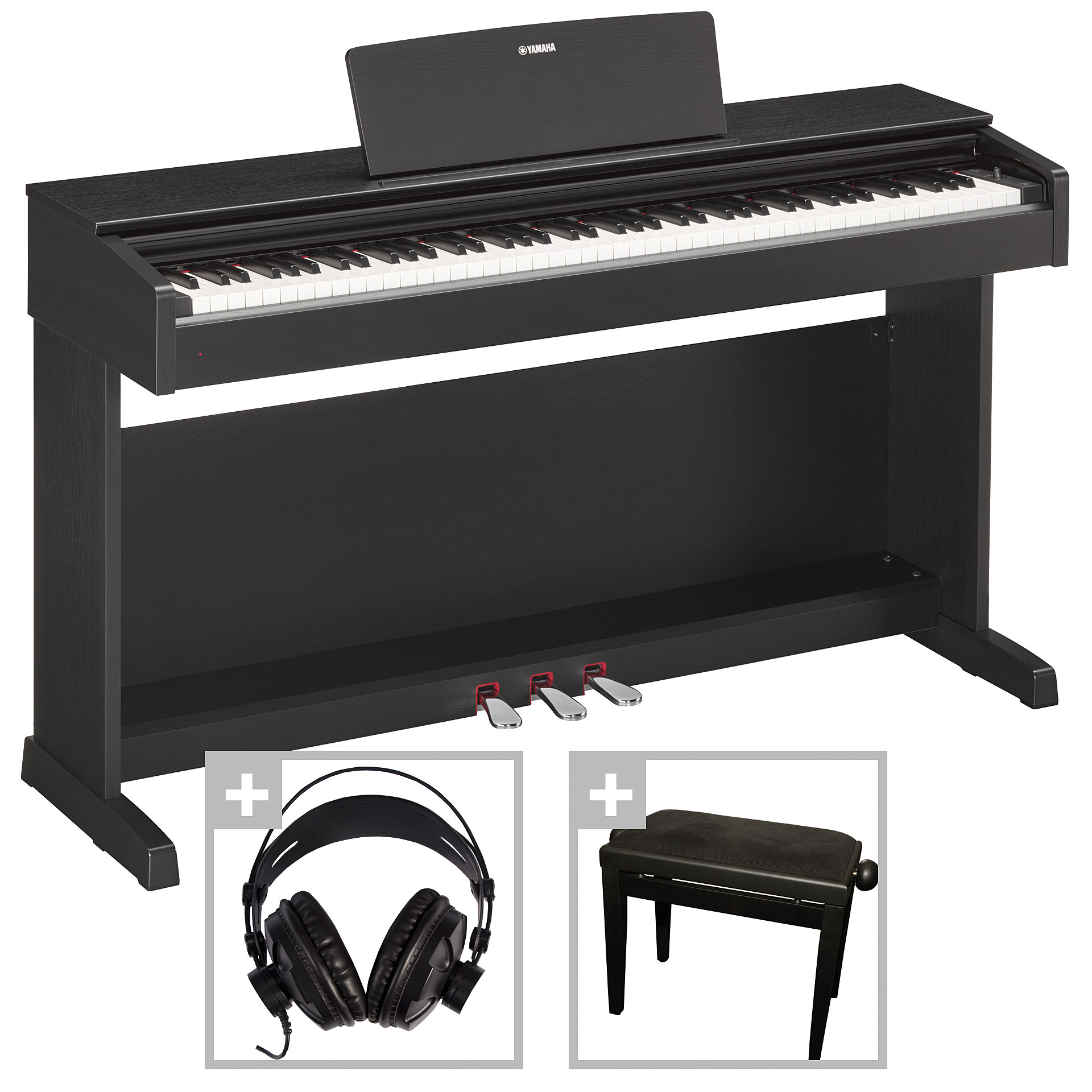 yamaha arius ydp 143 b set digitalpiano. Black Bedroom Furniture Sets. Home Design Ideas