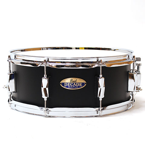 Pearl Decade Maple 14''x5,5'' Snare Satin Slate Black Drums