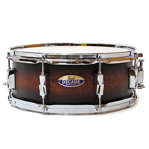 Pearl Decade Maple 14'' x 5,5'' Snare Satin Brown Burst Drums