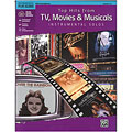 Play-Along Alfred KDM Top hits from TV, Movies and Musicals for alto sax