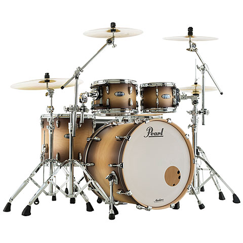 Pearl Masters Maple Complete 22'' Satin Natural Burst Drums