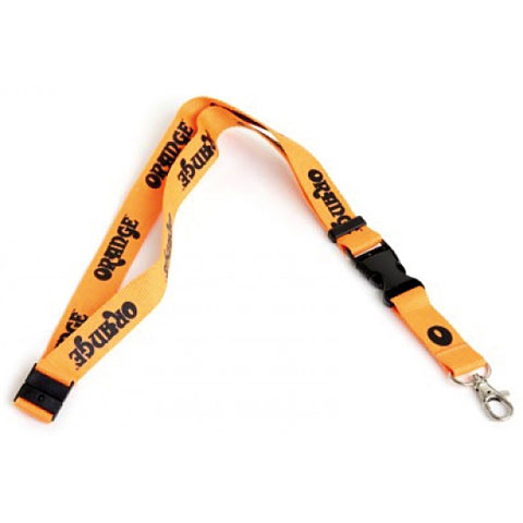 Orange Lanyard BLK/OR
