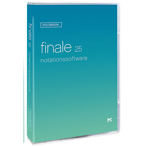 MakeMusic Finale 25 D Computer Software