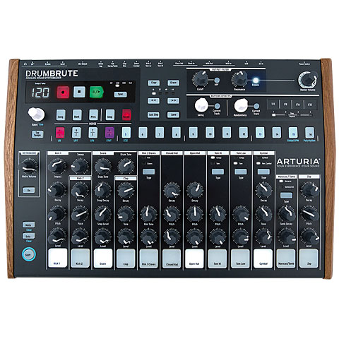 Arturia DrumBrute Synthesizer, Sampler