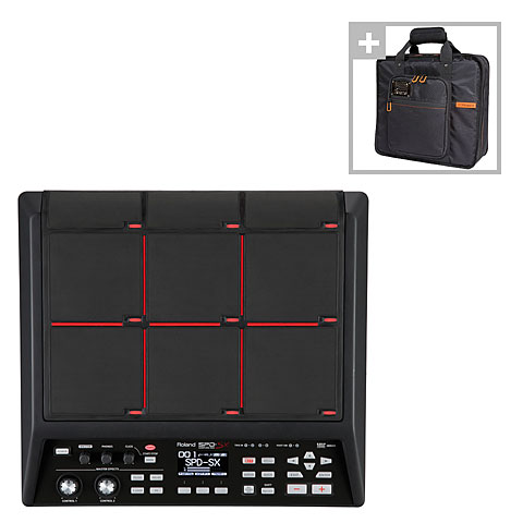 Roland SPD SX Sampling Pad Bag Bundle E Drums